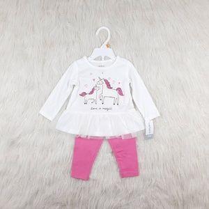 Carter's 12M Girl 2 Piece Baby Set NWT